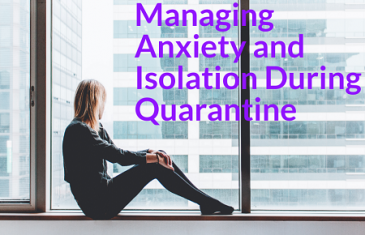 How to deal with anxiety during the lockdowns